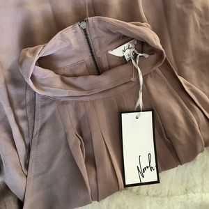 Mauve Flowy Tank- New With Tags- Size S